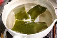 白味噌のお雑煮レシピ 昆布ダシ