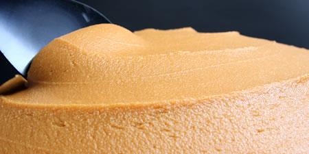環境こだわり農産物認証の原料を使用した味噌