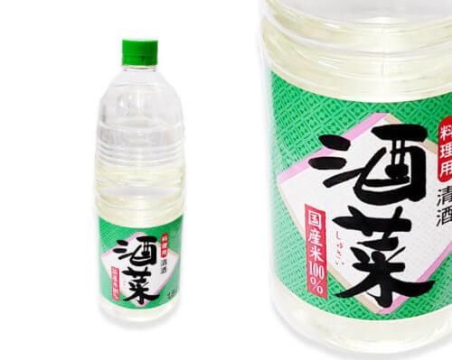 西京漬けの白味噌、味噌床に使用の料理酒