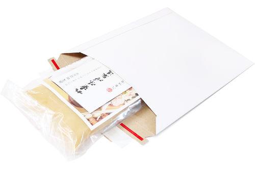 メール便発送の梱包例